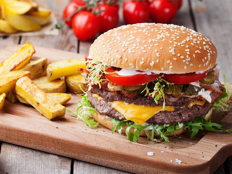 Burger & Spare Ribs Buffet