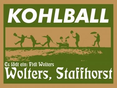 Kohlball am 19. Januar 2019